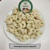 Cashew nuts whole white